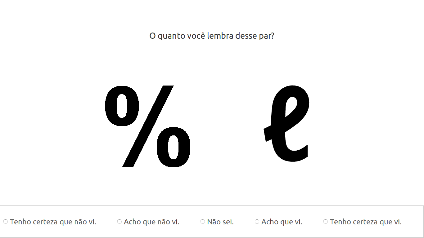 Likert scale example.